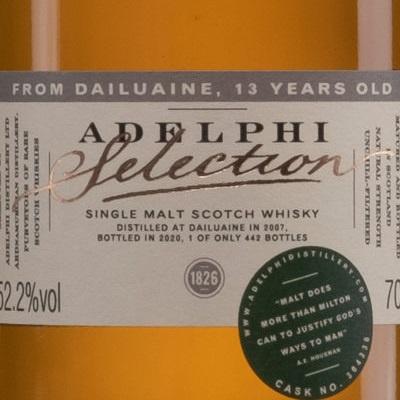 Adelphi Dinner (Engl.)