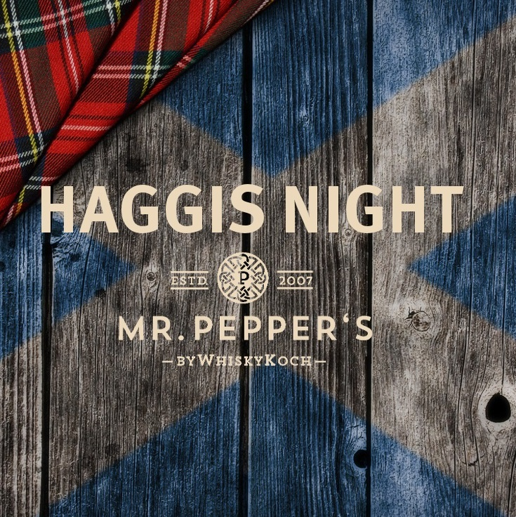 Haggis Night @ Mr. Pepper's